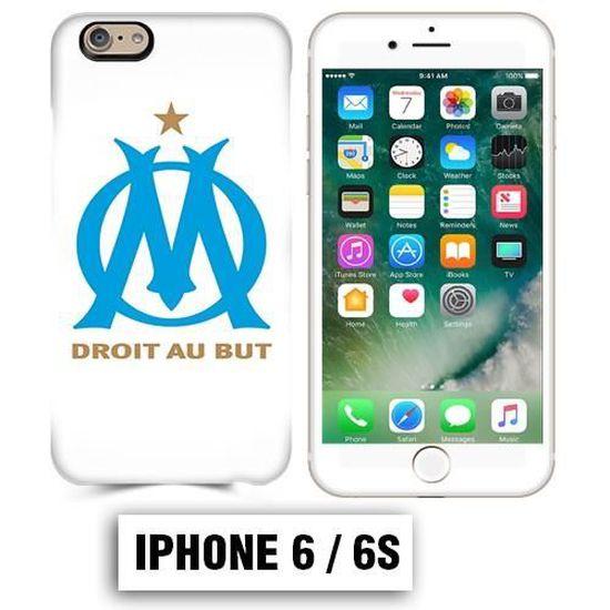 Coque iphone 6 6S équipe de Marseille OM foot