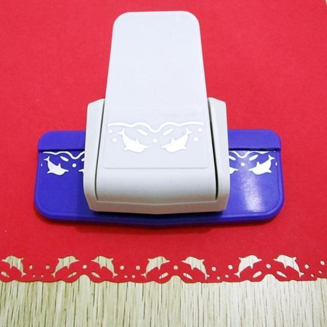 Coupeur de papier de périphérique de bord fait main de scrapbooking - conception de fleur de s-Haitun