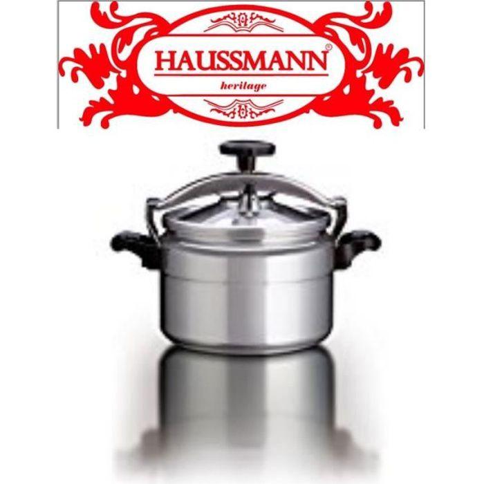 Haussmann Héritage - Autocuiseur Aluminium, tous feux dont induction,24cm 7L