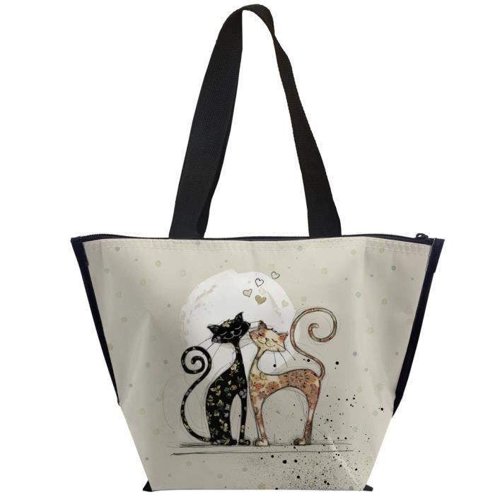 Sac Isotherme Chats Amoureux K
