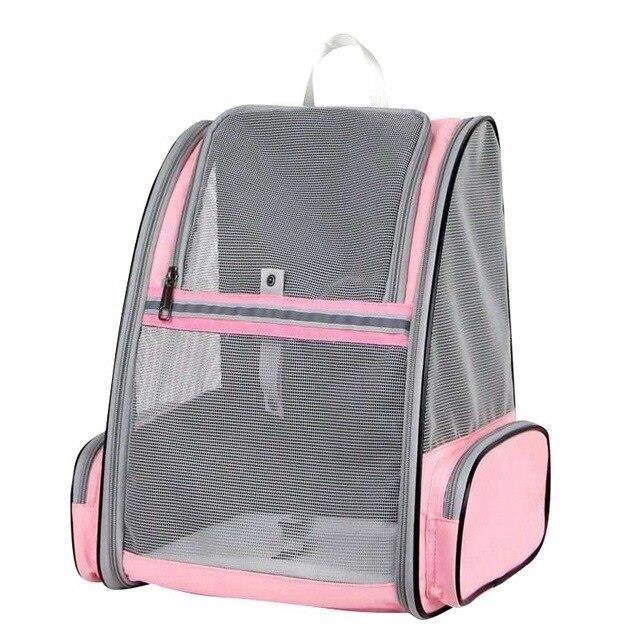 Sac à dos pour chien respirant Sac de transport pour chat, sac de voyage Portable en plein air pour chien, sac de trans SN12352