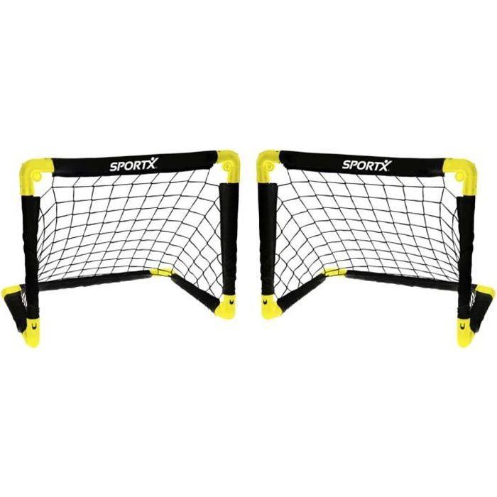 SportX 2 pcs Cages de but pliables 55 x 44 x 44 cm