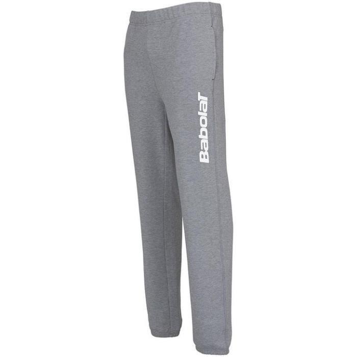 BABOLAT - BABOLAT PANT SWEAT BLOGO BOY* - 3BS16133107 - Pantalons TENNIS GRIS - (08-10 ANS)