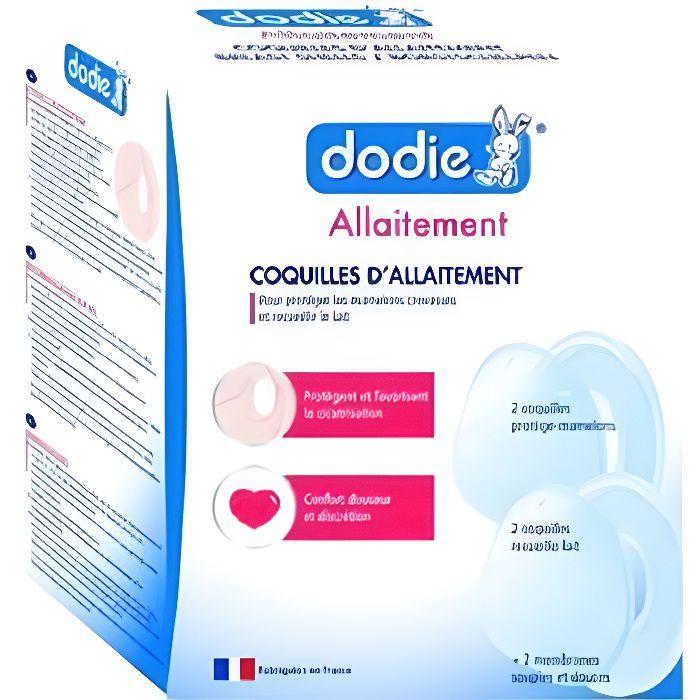 Dodie - Coquilles d'allaitement x4