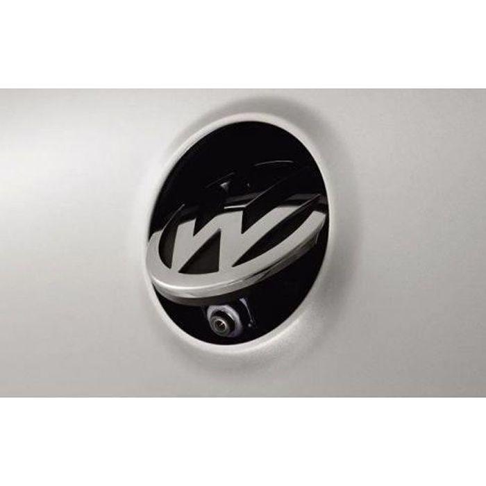 Caméra de recul logo escamotable VW GOLF 5 & 6 PASSAT EOS PHAETON