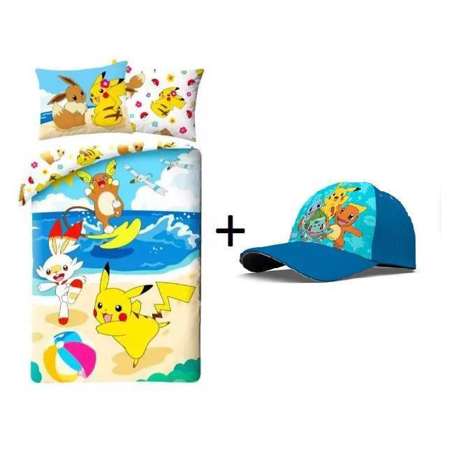 Pack Roi lion composé de Parure de Lit bébé Linge de lit enfant Le Roi Lion + 1 Serviette de plage roi lion 70 x 140 -FRENCH DAYS-