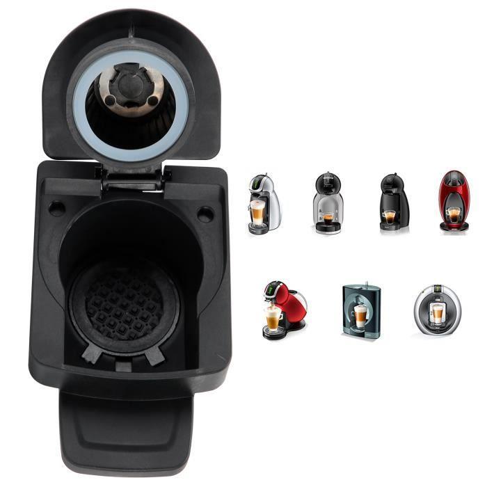 WEI Adaptateur de Capsule Accessoire Machine à Café pour DOLCE GUSTO Capsules Jetables-Réutilisables