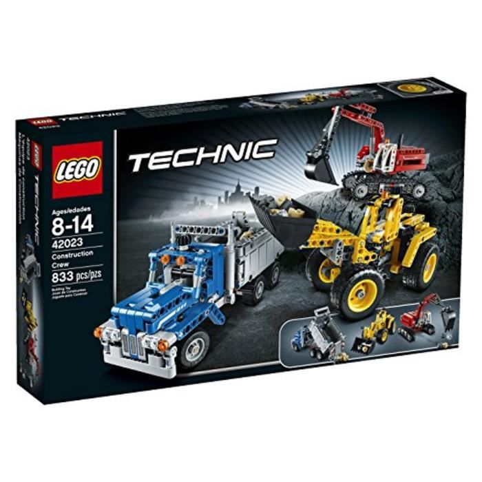 Jeu D'Assemblage LEGO BA94E Technic 42023 Crew Construction