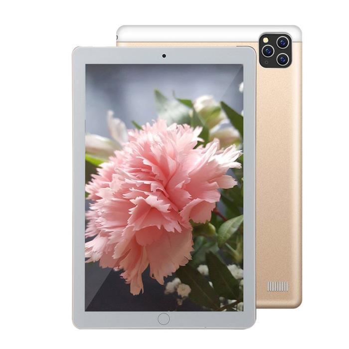 10,1 pouces P20 Android Tablet Pc ,Andorid 8.1, Octa-CoreTablet ,1Gb Ram + 16Gb Rom - GOLDEN