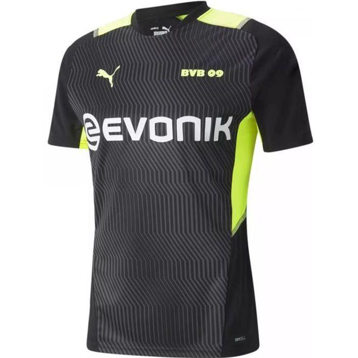 Maillot training Borussia Dortmund 2021/22 - noir/jaune fluo - XS