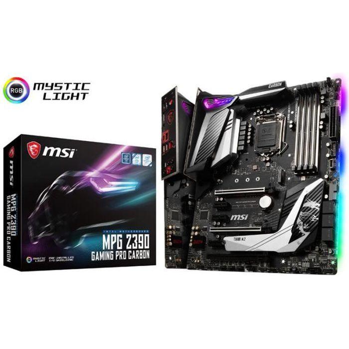 Carte mere Msi Mpg Z390 Gaming Pro Carbon, Intel Z390 Sockel 1151