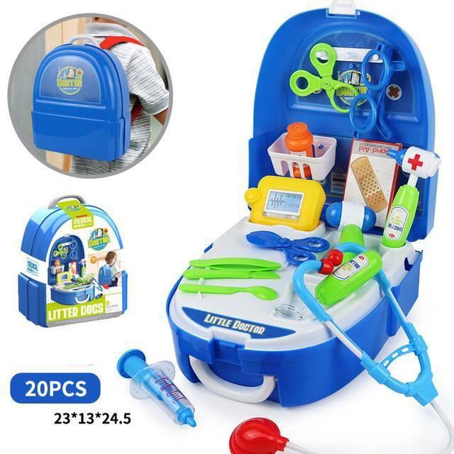 1pcs Docteur Enfant Jouet Jeu D Imitation Kit Du Docteur Medicale Jouet Avec Accessories Pour Fille Garcon Enfants 3 4 5 Ans Cdiscount Jeux Jouets