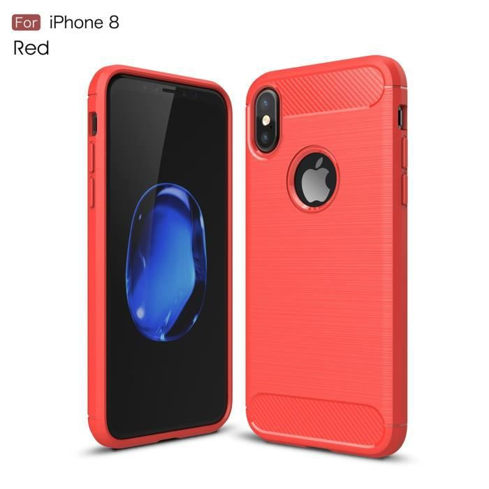 coque iphone 8 pas cher rouge
