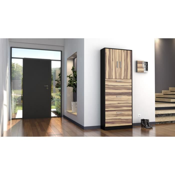 armoire designe armoire informatique ferm bois dernier cabinet id es pour la maison moderne. Black Bedroom Furniture Sets. Home Design Ideas