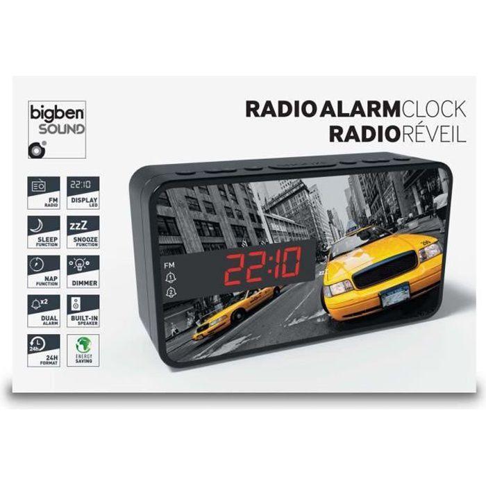Radio réveil BIGBEN RR15TAXI Radio Réveil - Décor taxi