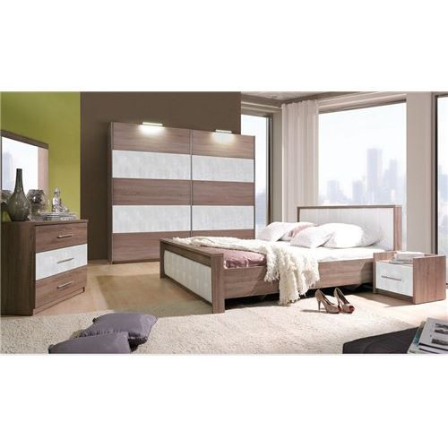 Chambre coucher compl te paula achat vente lit for Achat chambre a coucher complete
