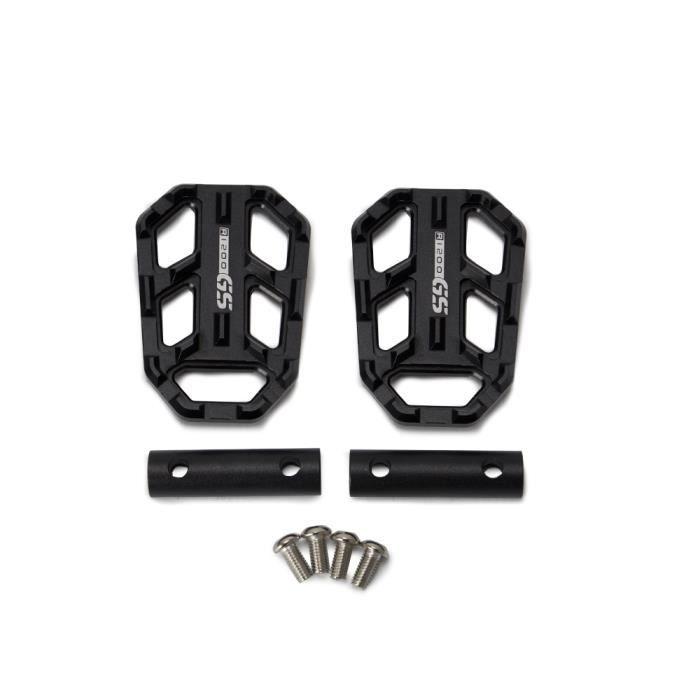 1000XR Repose-pieds de moto larges pieds de p/édales reste pour G310R G310GS R1200GS LC S Black