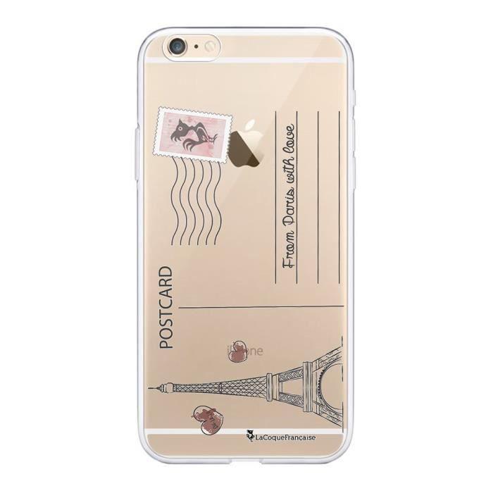 Coque iPhone 6 Plus / 6S Plus souple transparente