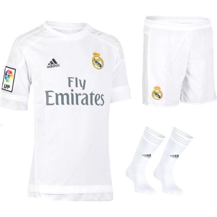MAILLOT DE FOOTBALL Minikit Adidas Real Madrid domicile