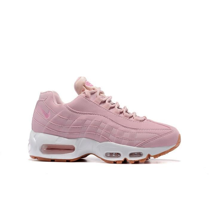 sports shoes 4c007 4f602 NIKE AIR MAX 95 FEMME CHAUSSURE DE RUNNING ROSE