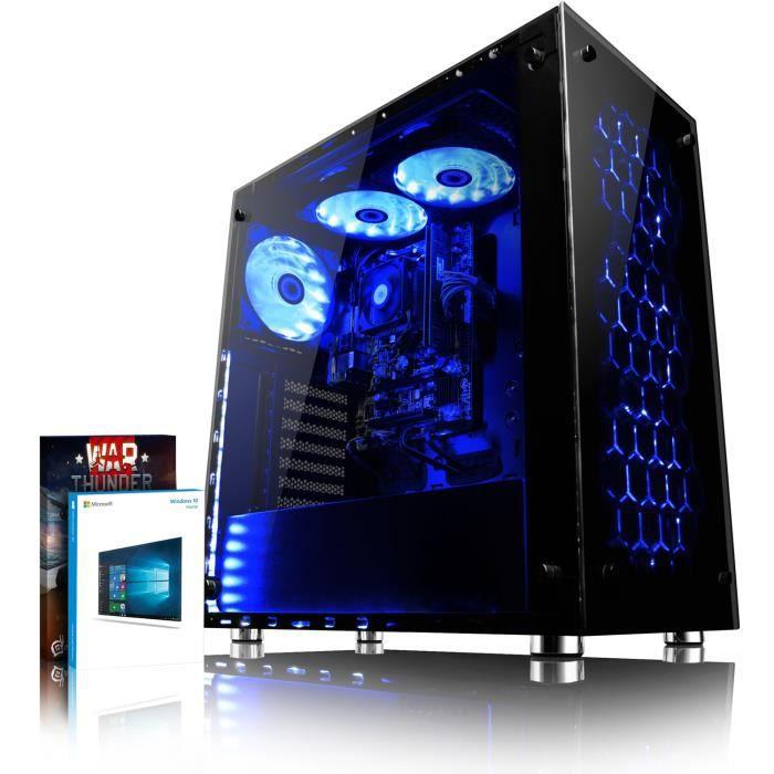 UNITÉ CENTRALE  VIBOX Nebula GLR750-1 PC Gamer Ordinateur avec War
