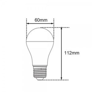 1x 11 W lumière du jour blanc 6400K basse énergie CFL Bâton Ampoule Lampe Baïonnette BC B22