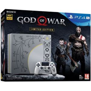 CONSOLE PS4 Console PS4 Pro 1To Édition Limitée God Of War + G