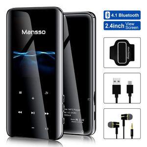 LECTEUR MP3 Lecteur MP3 Bluetooth 4.1 Boutons Tactile avec Écr