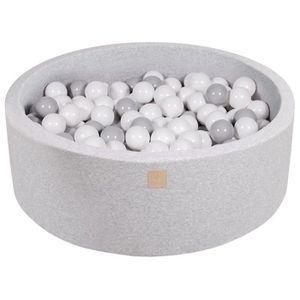 PISCINE À BALLES MeowBaby 90X30cm/200 Balles ∅ 7Cm Piscine À Balles