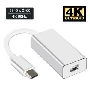 CÂBLE AUDIO VIDÉO Convertisseur Thunderbolt 3 USB-C vers Mini Displa