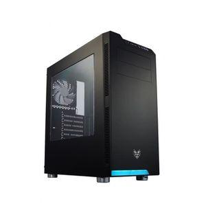 BOITIER PC  BT FORTRON FSP + Fen. Latéral CMT-240 Noir