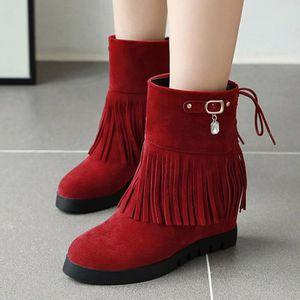 BOTTE Bottes Casual Women Square-Toe Chaussures à talons