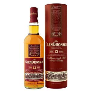 WHISKY BOURBON SCOTCH Glendronach 12 ans (70cl)