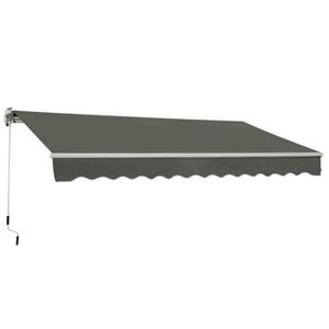 STORE - STORE BANNE  Store banne manuel rétractable aluminium polyester