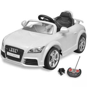 VOITURE ELECTRIQUE ENFANT Voiture électrique 6 V - 4,5 Ah pour enfant Audi T