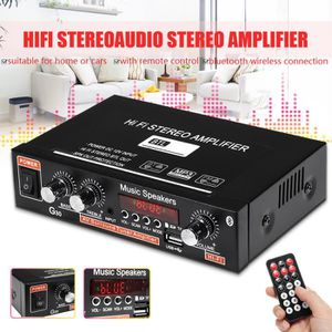AMPLIFICATEUR HIFI Amplificateur HIFI bluetooth Stéréo Audio Radio FM