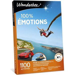 COFFRET SPORT - LOISIRS Box cadeau - 100 % Emotions - Wonderbox - 1100 act