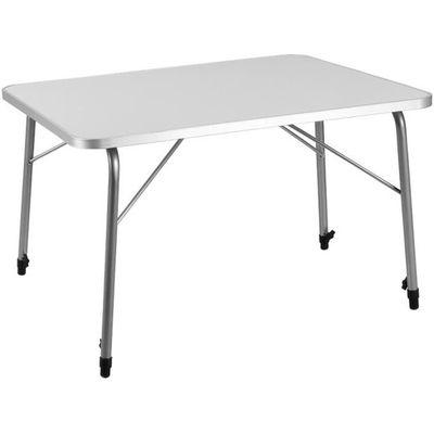 Deuba | Table pliante • Aluminium • hauteur réglable • 80x60 ...