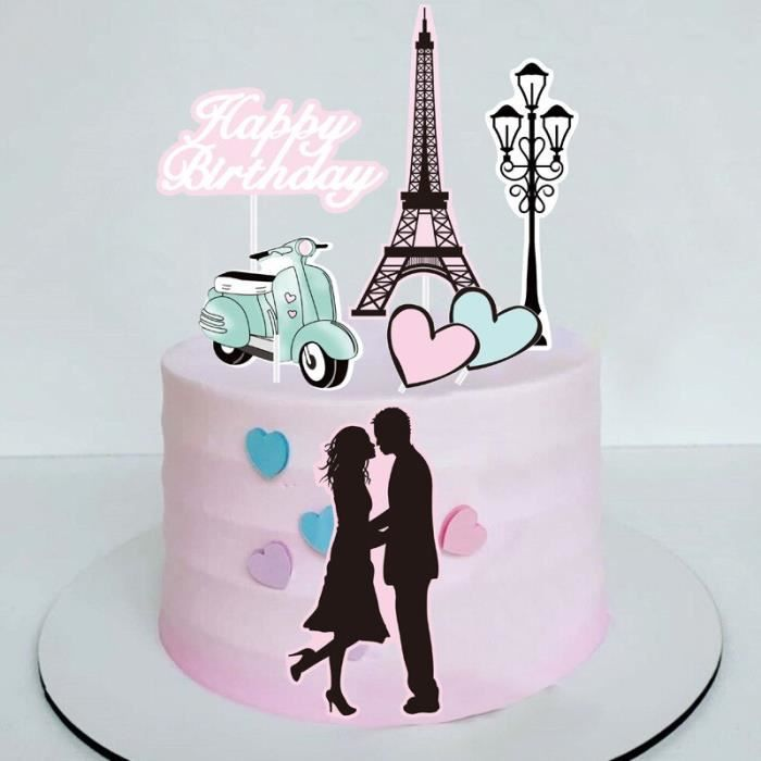 Décoration de gâteau à talons hauts pour fille, nouveau sac à lèvres, cosmétiques, fête d'anniversaire, parfum, [FDCAFC8]