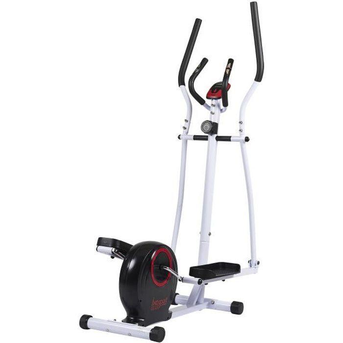 IXOSPORT Vélo elliptique Ixo-5478 - Masse d'inertie 2 kg - 8 niveaux de résistance