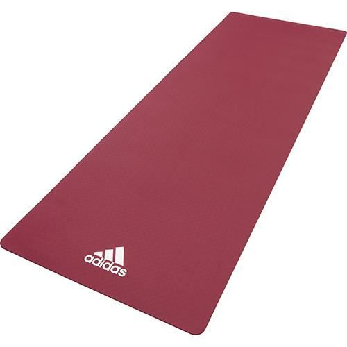 Adidas tapis de yoga 8mm mystery ruby
