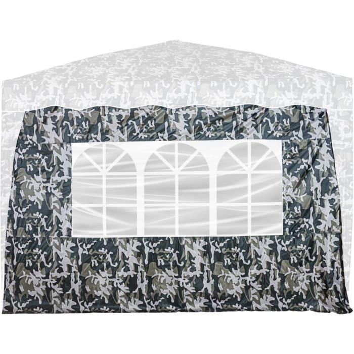 INSTENT Panneau latéral avec 3 fenêtres, couleur urban