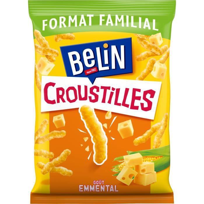 Belin Croustilles goût Emmental Format Familial 138g