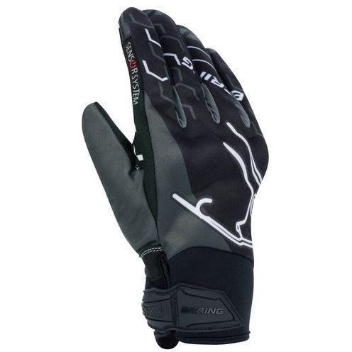Bering gants moto Walshe noir gris