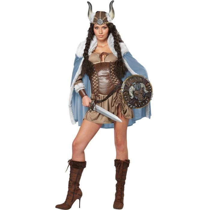 Déguisement Guerrière Viking