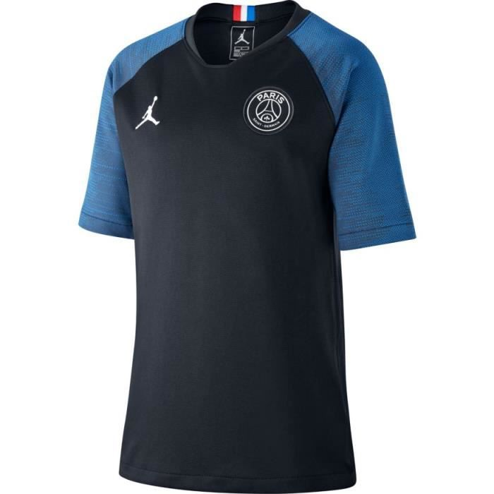 MAILLOT JUNIOR JORDAN / PSG PARIS TRAINING BLEU 2020 jordan