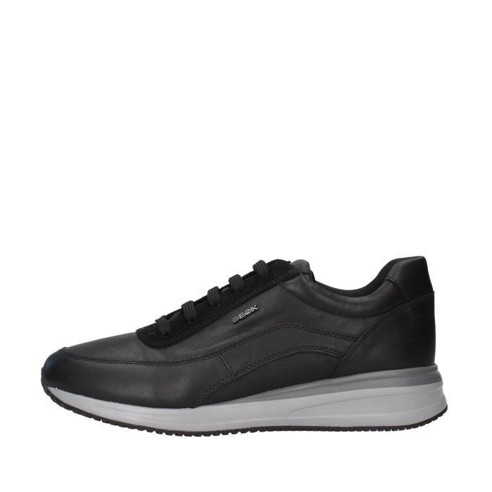 Geox U920GA00085 chaussures de tennis faible homme NOIR