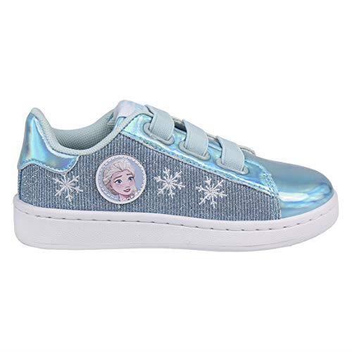 CERDÁ LIFE'S LITTLE MOMENTS Cerdá - Chaussures iridescentes de la Reine des Neiges de Couleur Lilas, Petites Filles - - Lilas, 23 EU