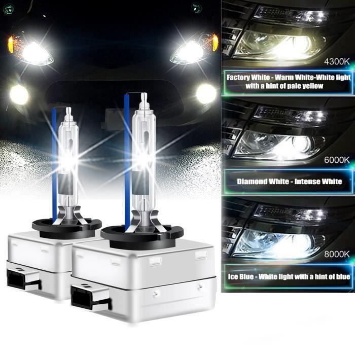 Phare Avant D3R D3S HID Xénon Ampoule Remplacement Kit 35W 8000k 12V WINPOWER 2PCS Lampe pour Audi A4 A3 A6 S6 Citroen