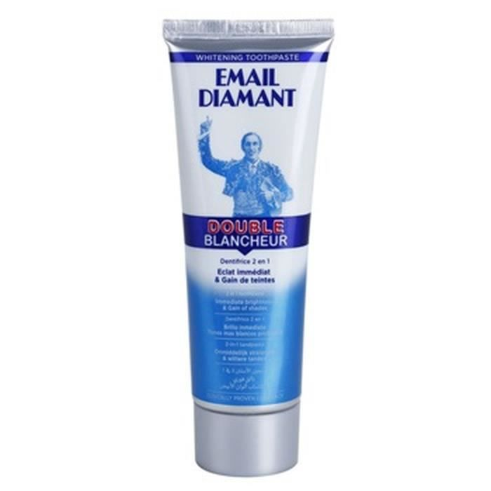 EMAIL DIAMANT Dentifrice blanchissant Double blancheur - 7,5 cl